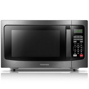 Toshiba 1.2 Cu. Ft. Microwave Oven in Black Stainless Steel , , large