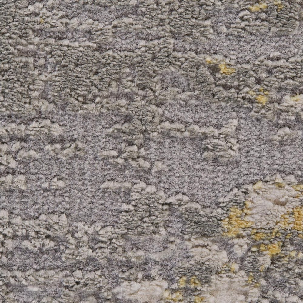 Feizy Rugs Waldor 3969F 5' x 8' Gold and Sterling Area Rug, , large
