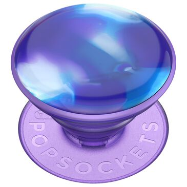 PopSockets PopGrip Luxe Swappable Device Stand and Grip - Swirl Blurple, , large