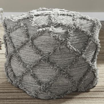 Signature Design by Ashley Adelphie Pouf In Natural Gray, , large