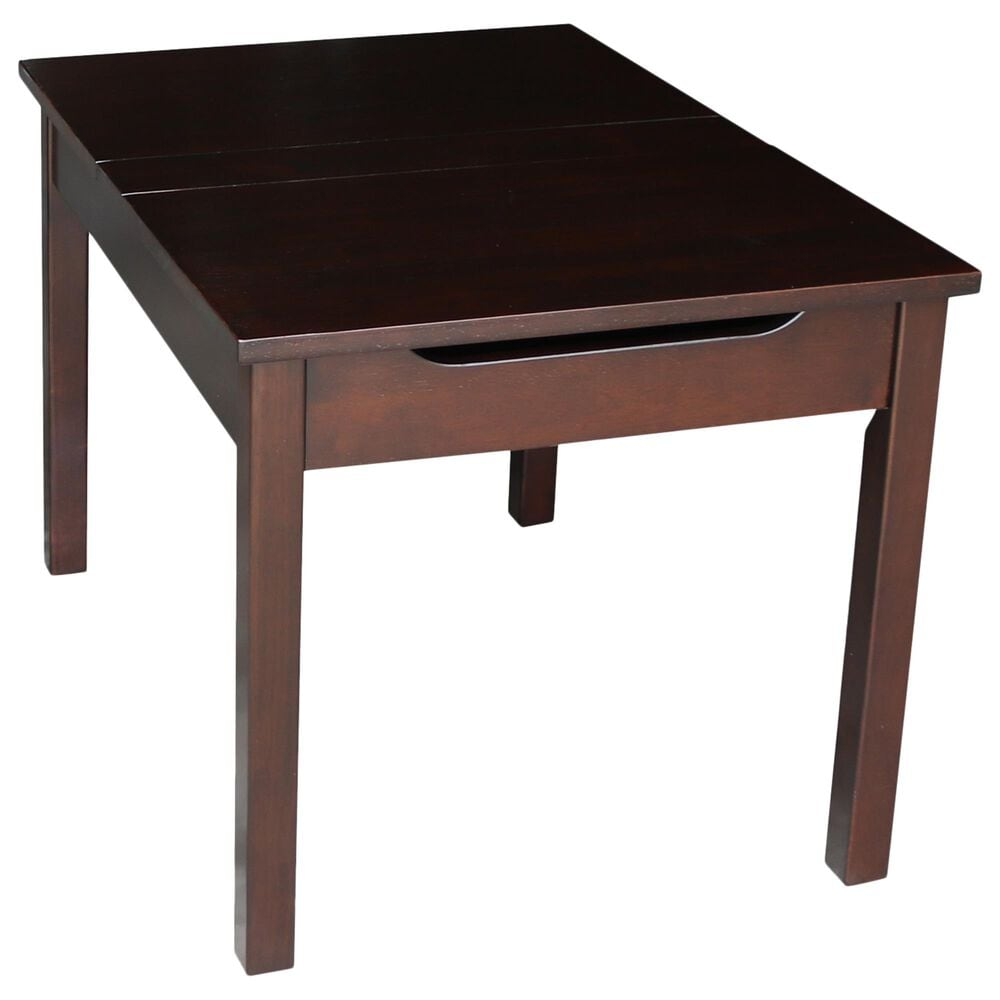 International Concepts San Remo 5 Piece Juvenile Table Set in Rich Mocha, , large