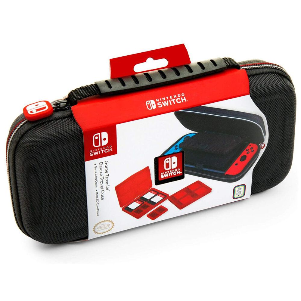 Nintendo Switch Game Deluxe Travel Case in Black, , large