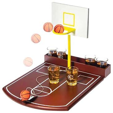 Home Essentials and Beyond Funville Deluxe Basketball Shot Set with 1 oz. Shot Glasses, , large