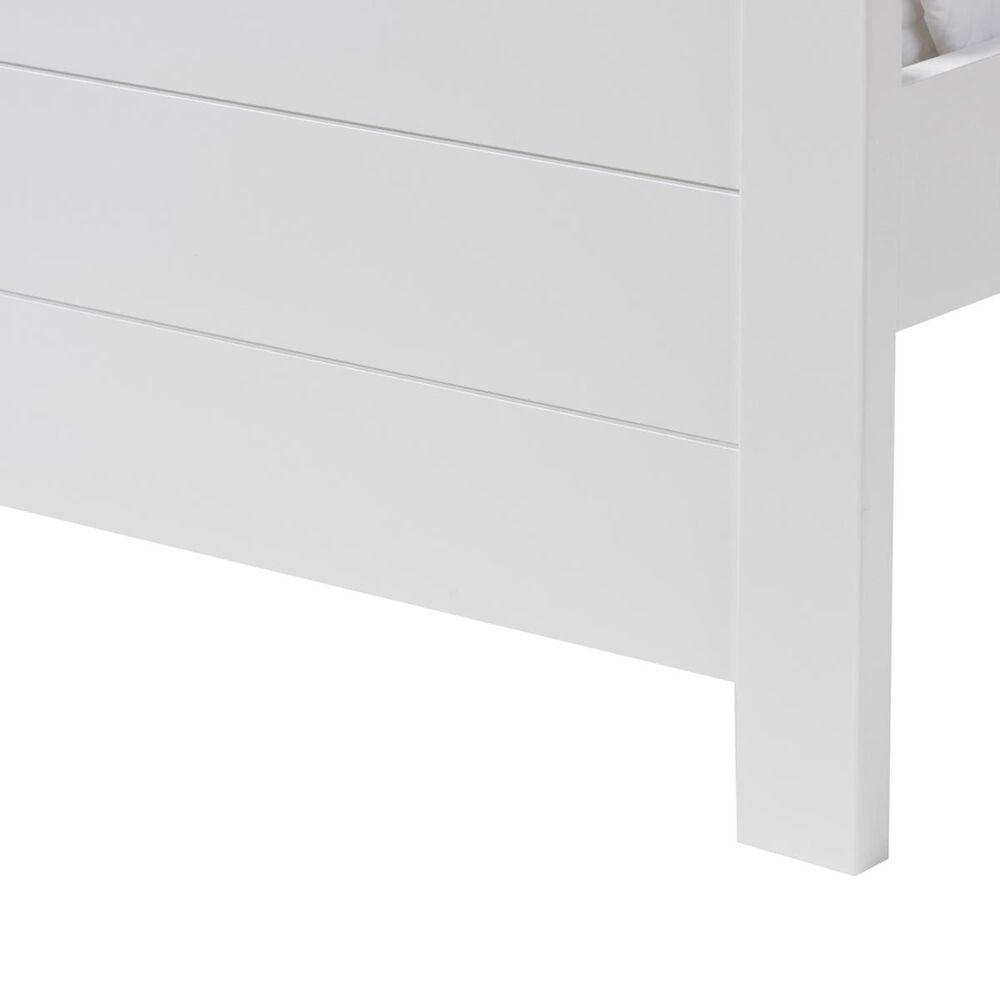 Baxton Studio Catalina Twin Platform Bed in White, , large