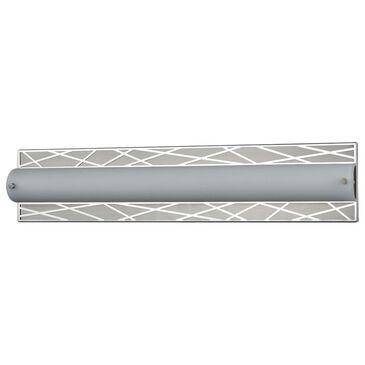 """Stein World Captiva 25"""" LED Vanity Polished Stainless/Matte Nickel, , large"""