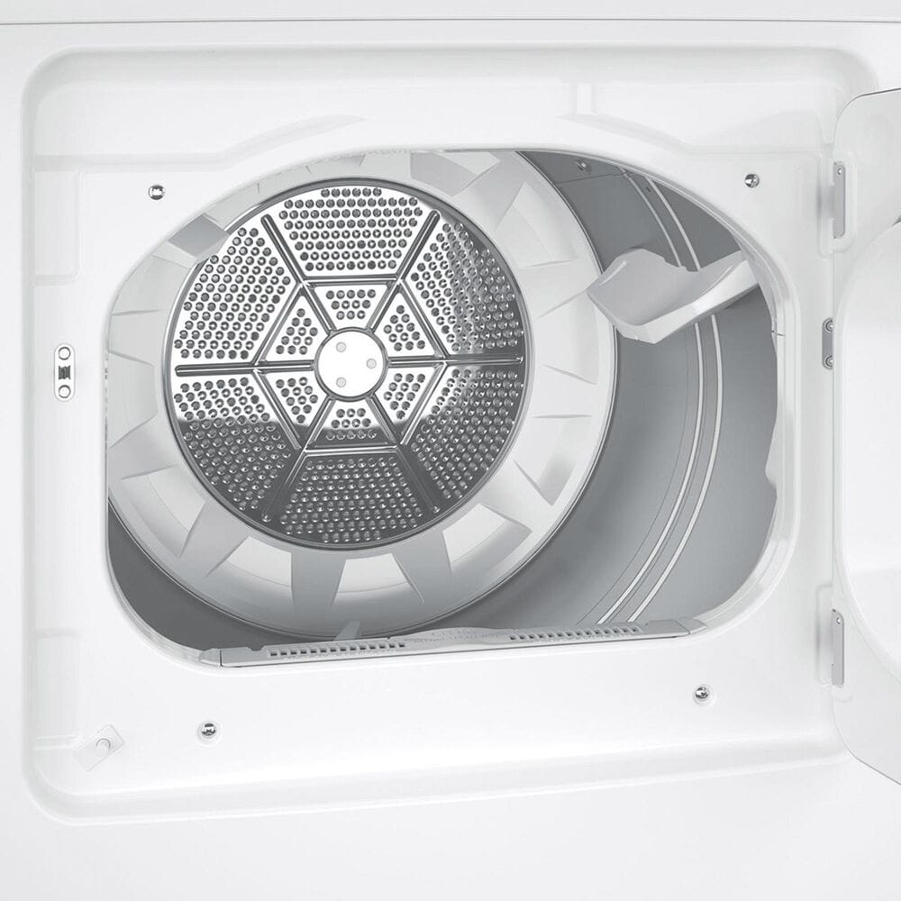 GE Appliances 7.2 Cu. Ft. Electric Dryer in White, , large