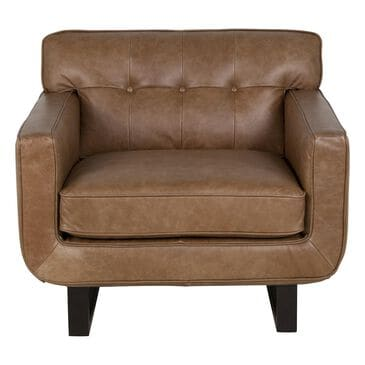 Interlochen Leather Chair in Camel, , large