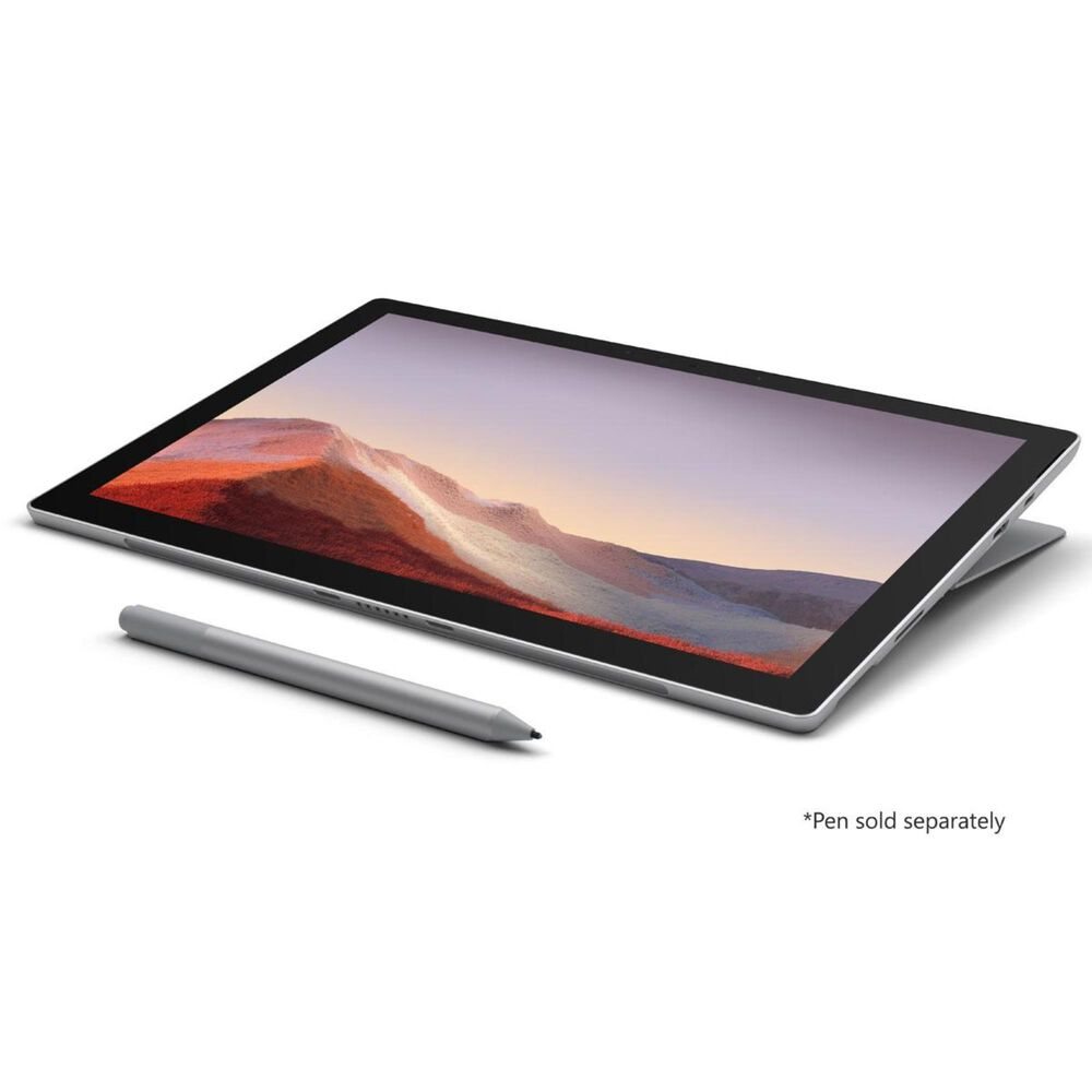 """Microsoft Surface Pro 7 - 12.3"""" Touch Screen - Intel Core i5 - 8GB Memory - 128GB Solid State Drive (Latest Model) - Platinum, , large"""