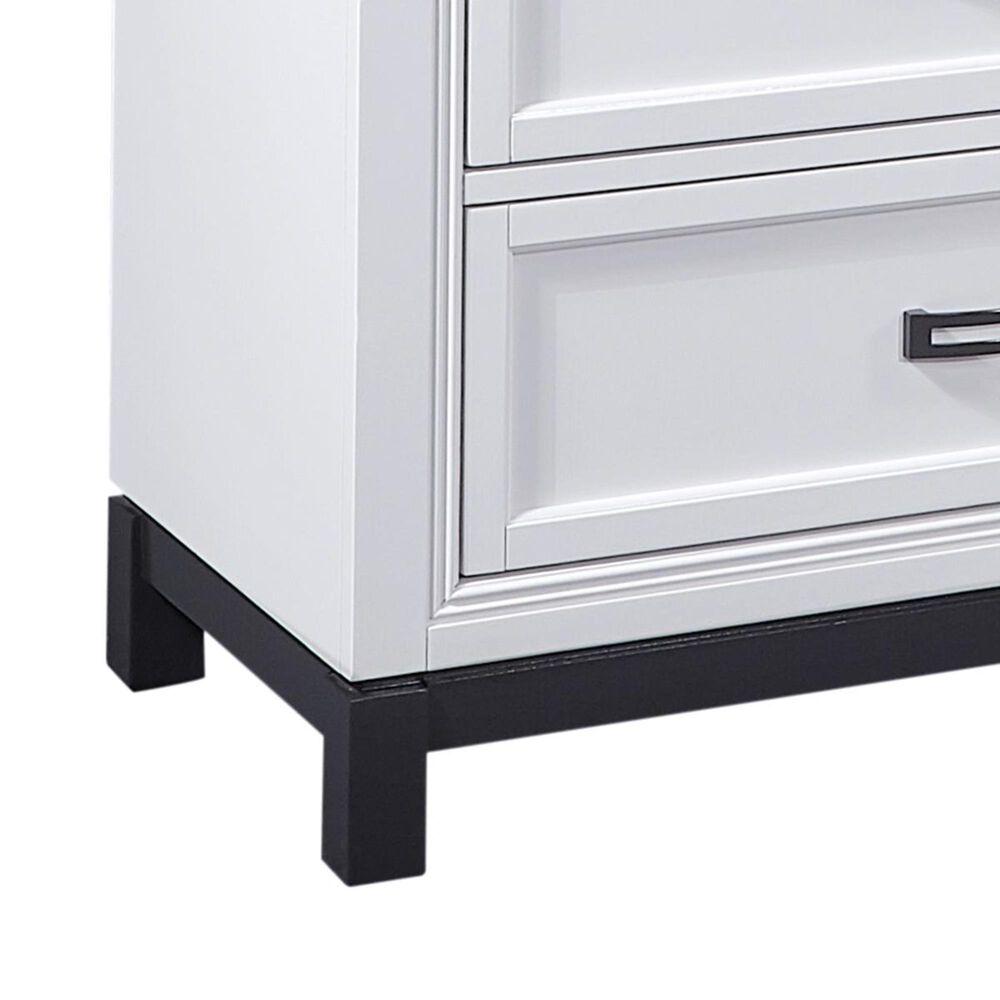 Riva Ridge Hyde Park 6 Drawer Dresser in White, , large