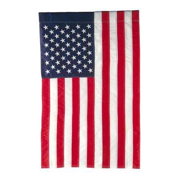 Evergreen Patriotic American Flag, , large