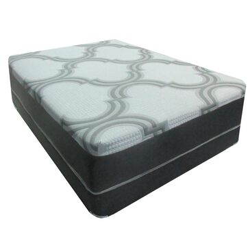 Omaha Bedding Warren Elite Plush Hybrid Queen Mattress with High Profile Box Spring, , large