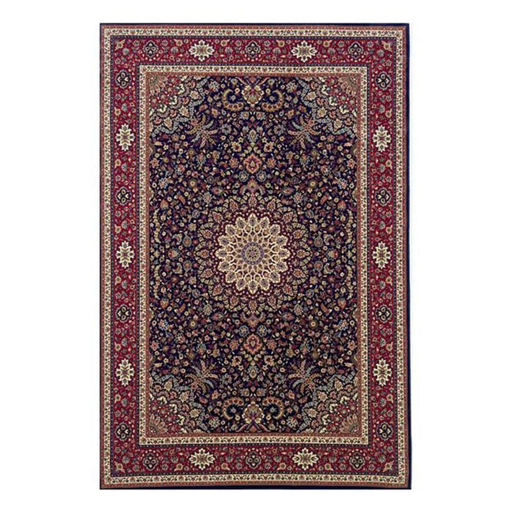 "Oriental Weavers Ariana 95B 6'7"" x 9'6"" Blue Area Rug, , large"