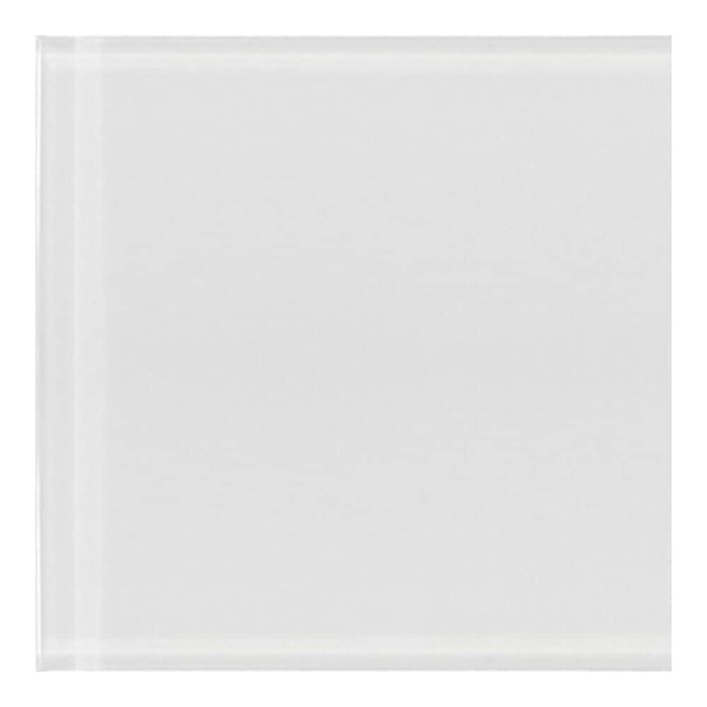 "Emser Lucente Blanc 12"" x 13"" Glass Mosaic Sheet, , large"