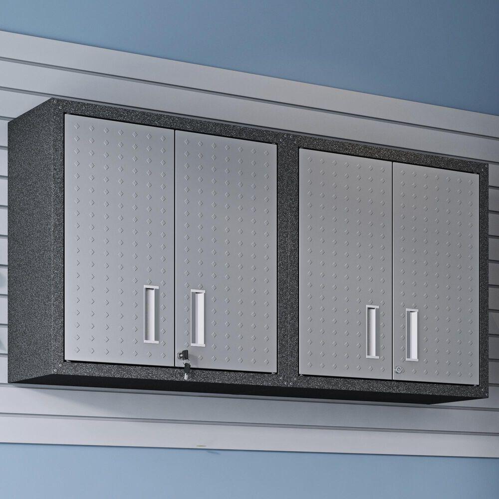 "Dayton Fortress 30"" Garage Cabinet with Adjustable Shelves in Grey, , large"