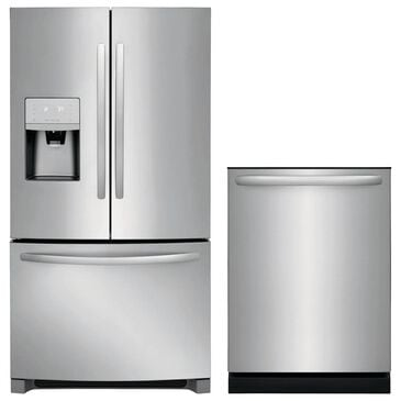 Frigidaire 2-Piece Kitchen Package with French Door Refrigerator in Stainless Steel, , large