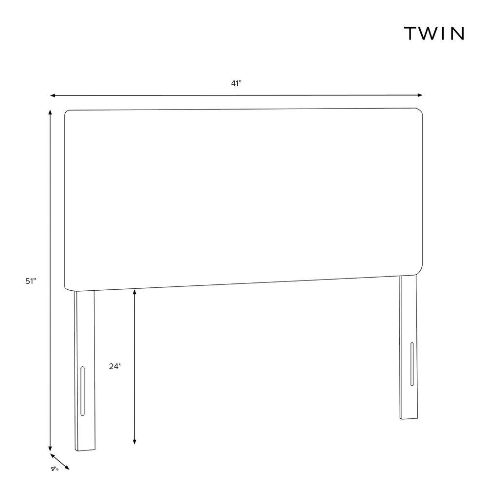 Skyline Furniture Twin Headboard in Velvet Ink, , large
