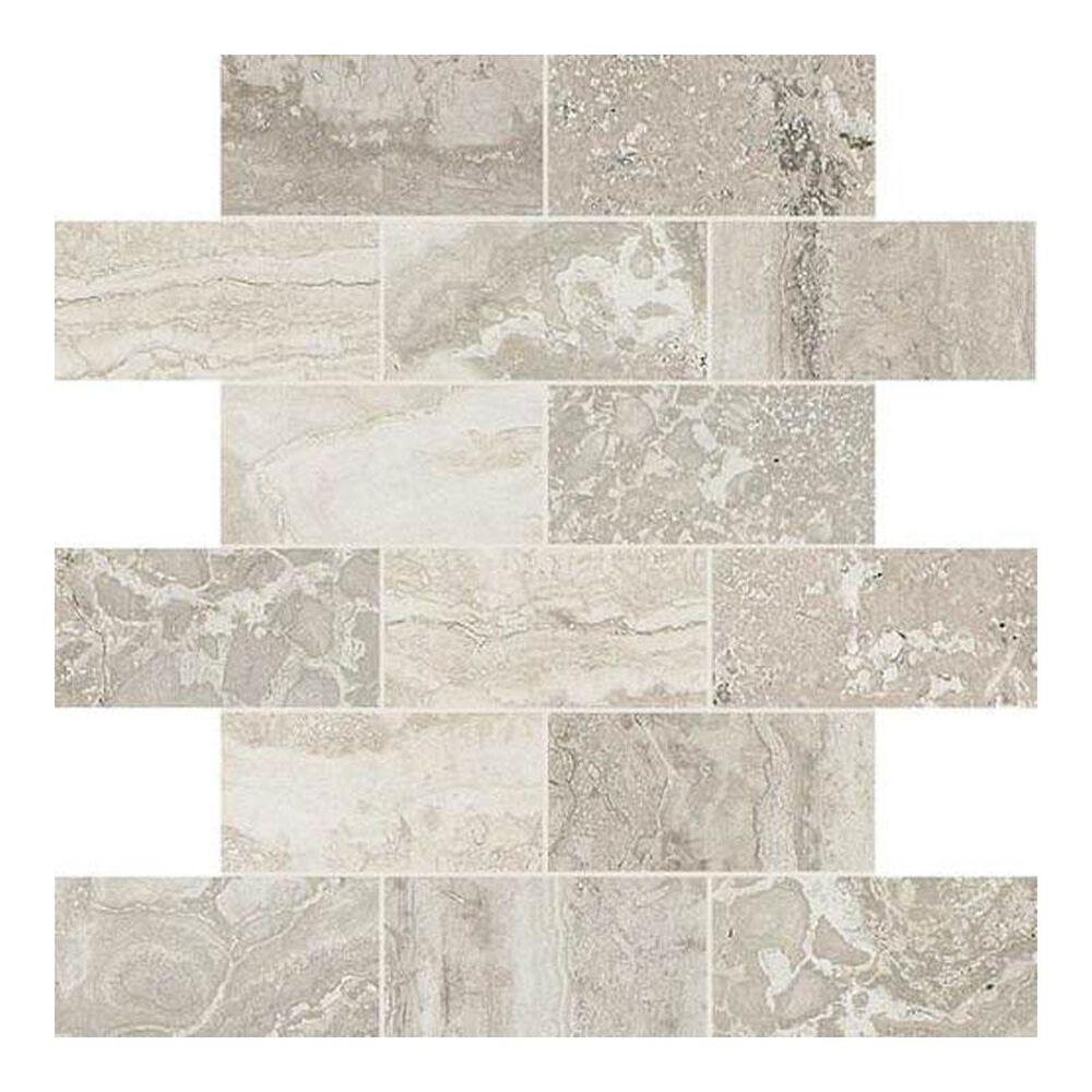 """Dal-Tile Exquisite Chantilly 12"""" x 12"""" Porcelain Mosaic Sheet, , large"""