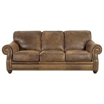 Softline Leather Sofa in Vintage Tobacco, , large
