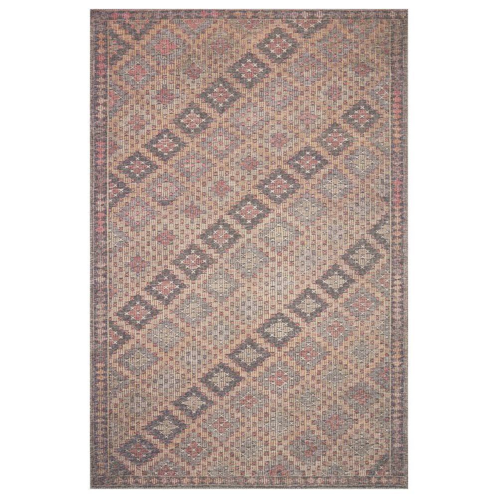"ED Ellen DeGeneres Crafted by Loloi Alameda ALA-08 2'6"" x 9'6"" Beige and Charcoal Runner, , large"