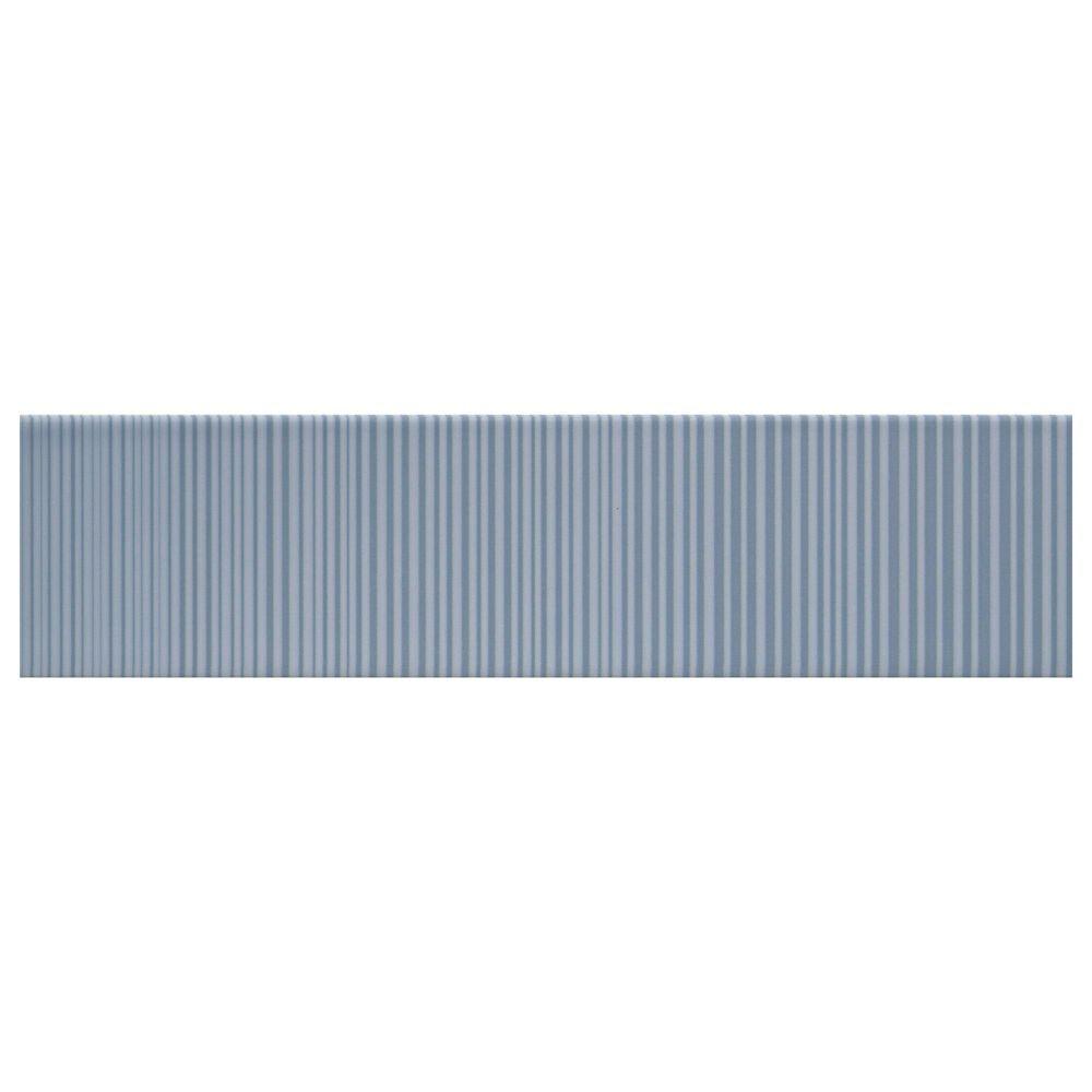 """Emser Express Linear Blue 3"""" x 12"""" Ceramic Tile, , large"""