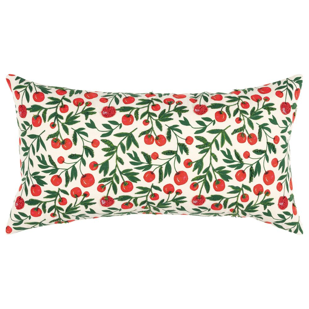 """Rizzy Home Summer 14"""" x 26"""" Pillow in Multi, , large"""