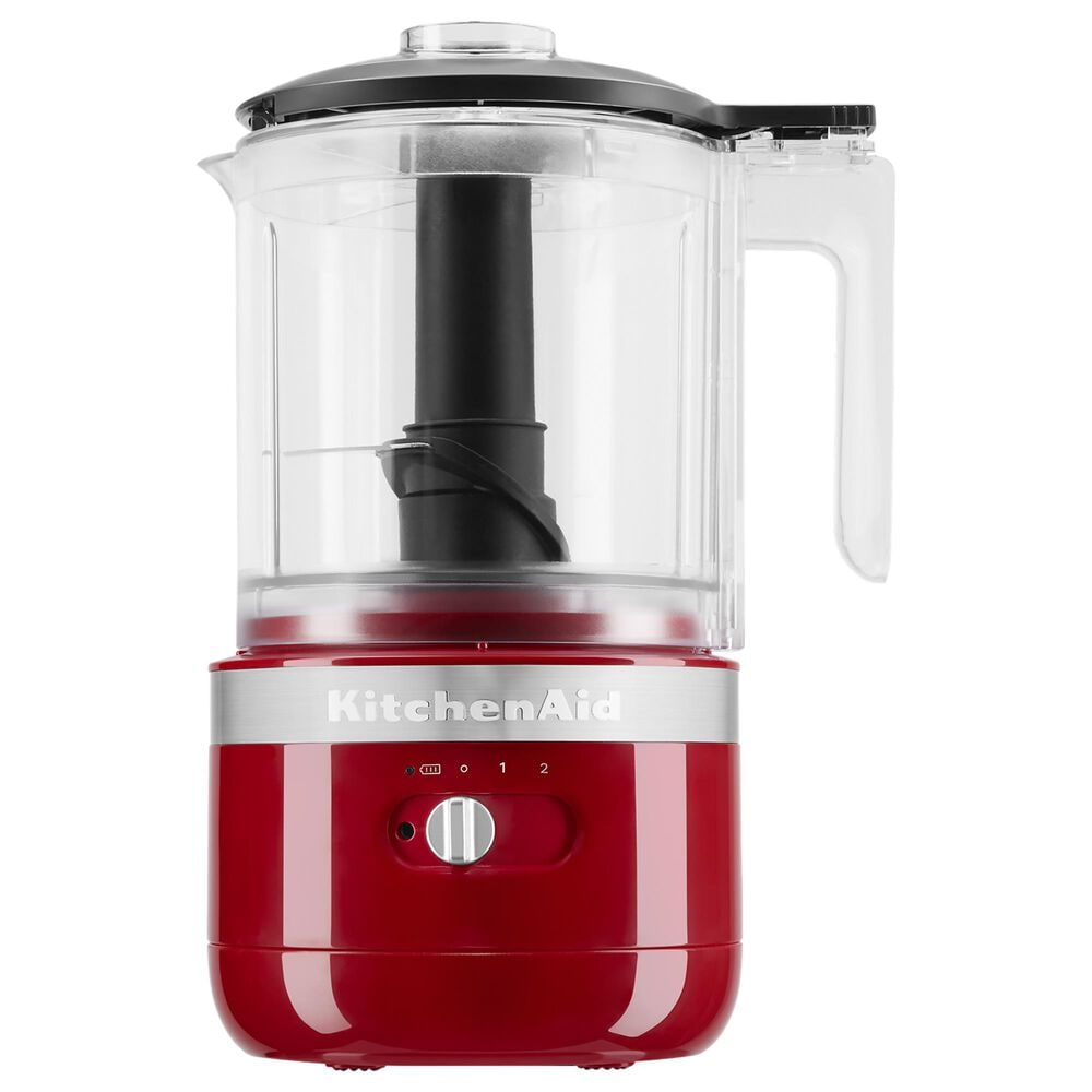 KitchenAid Cordless 5 Cup Food Chopper in Empire Red, , large