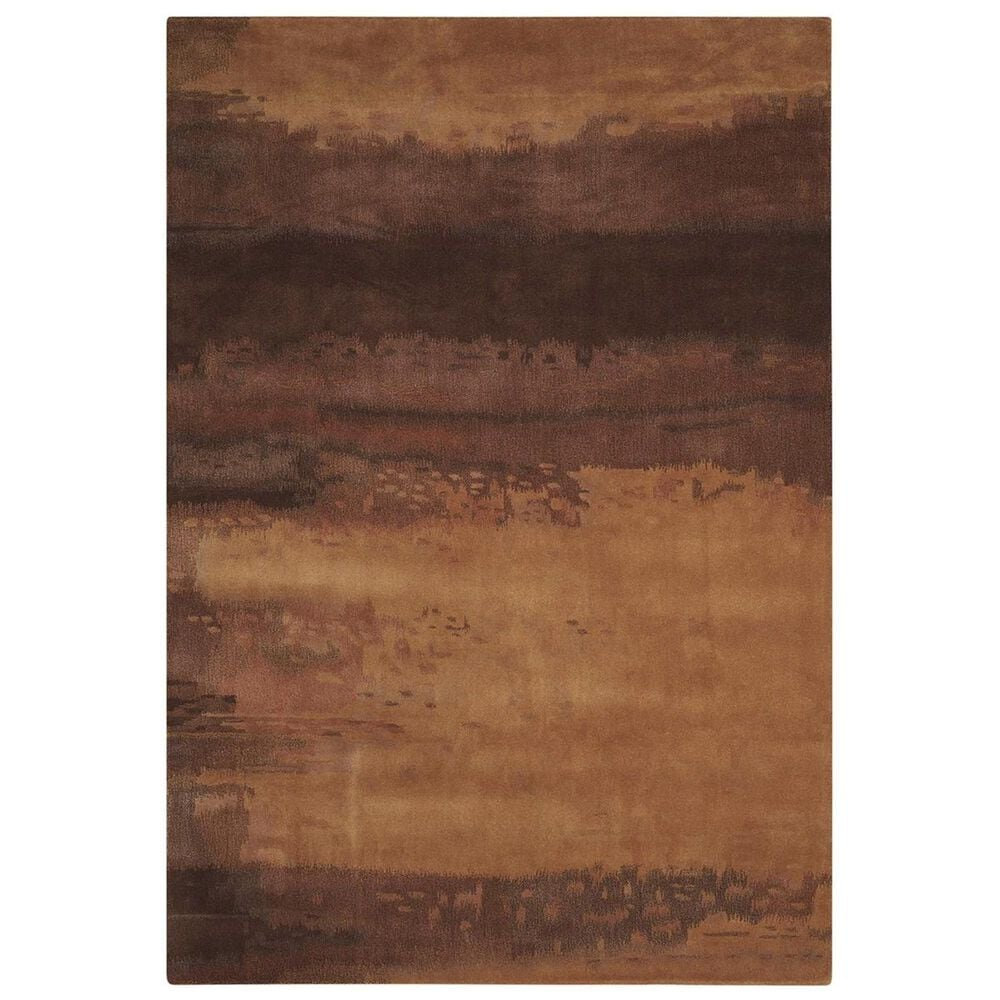 Calvin Klein Home Luster Wash CK10 SW09 3' x 5' Copper Area Rug, , large