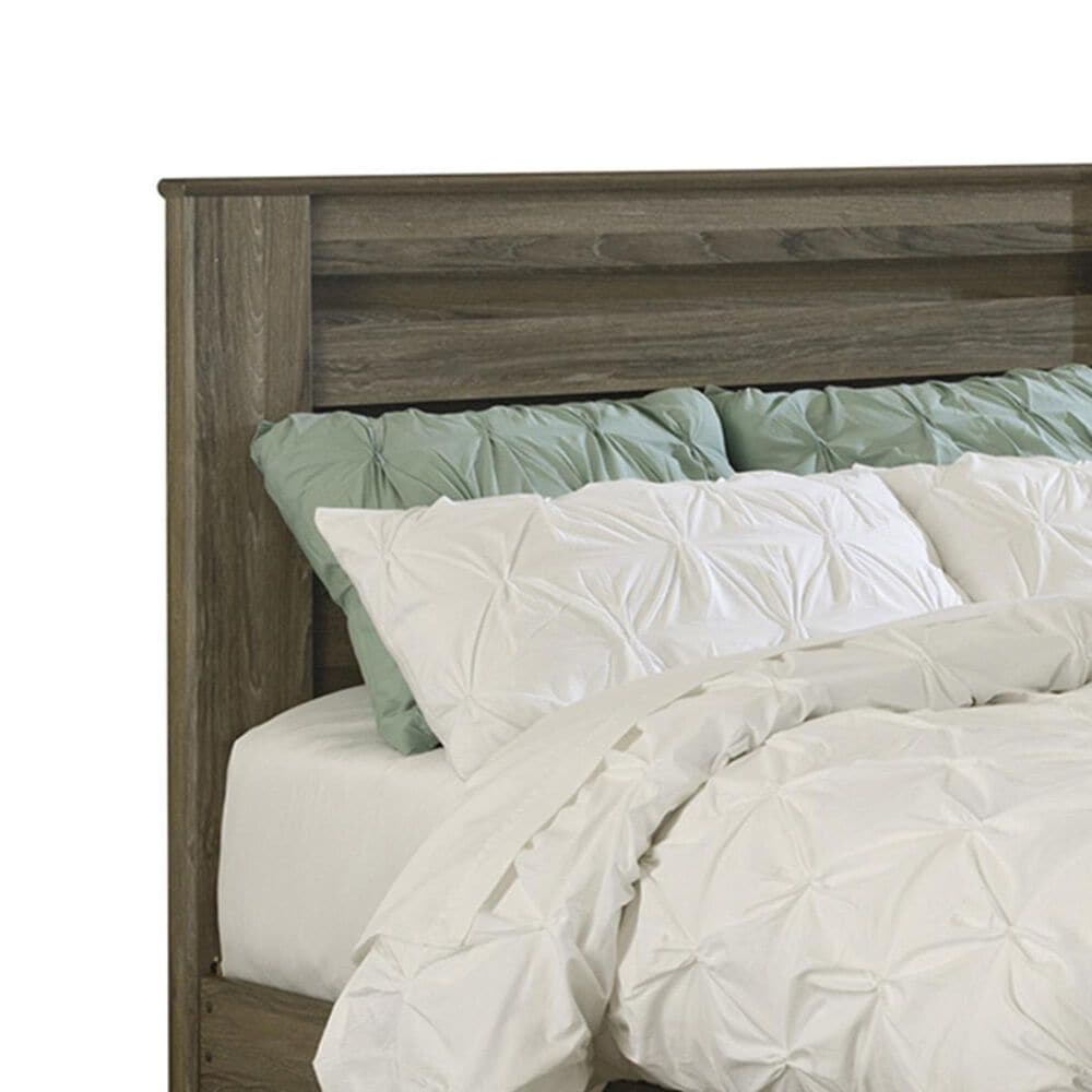 Signature Design by Ashley Zelen King Panel Bed in Warm Gray, , large