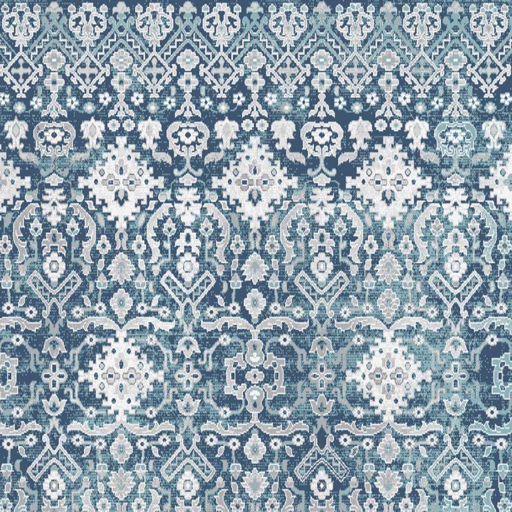 "Central Oriental Sientan Wali 2522.260 2'2"" x 3' Dark Blue and Grey Area Rug, , large"