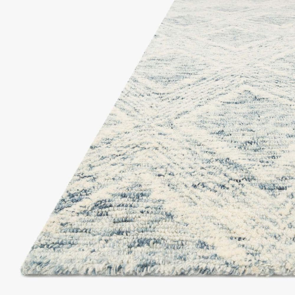 "ED Ellen DeGeneres Crafted by Loloi Kopa 9'3"" x 13' Denim and Ivory Area Rug, , large"