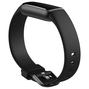 Fitbit Luxe Classic Band Large in Black, , large