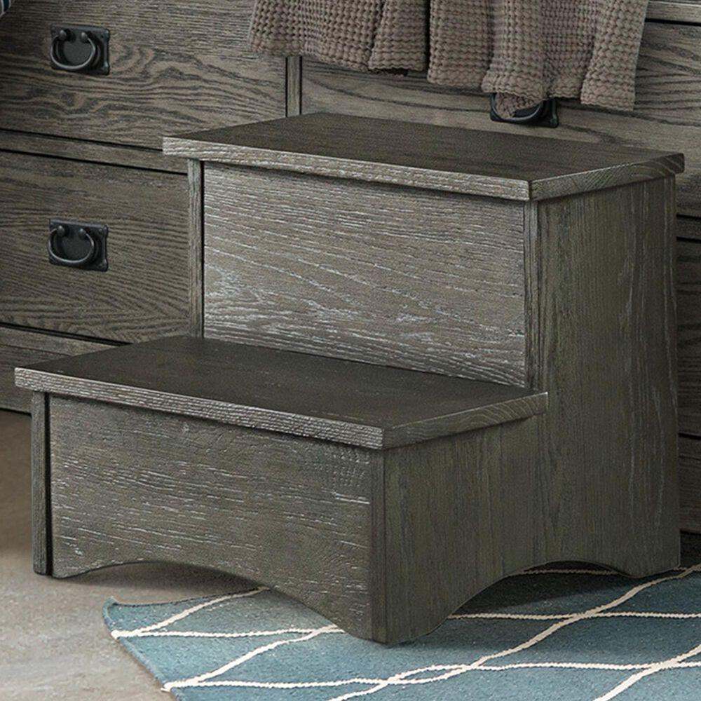 Hawthorne Furniture Oak Park Step Stool in Pewter, , large