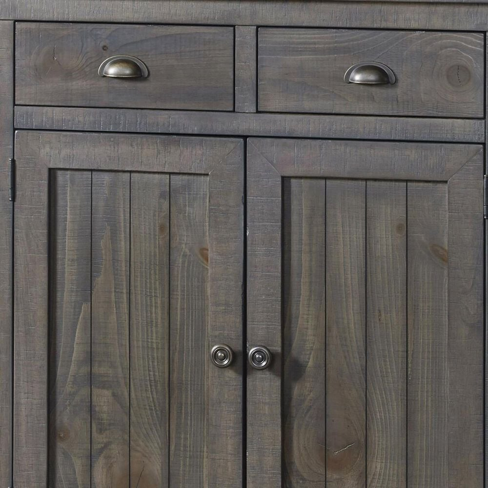 Tiddal Home Willow Server in Distressed Dark Gray, , large