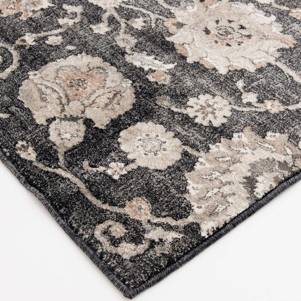 Central Oriental Adore Harlet 9264DBC 8' x 10' Deep Blue, Cement and Grey Area Rug, , large