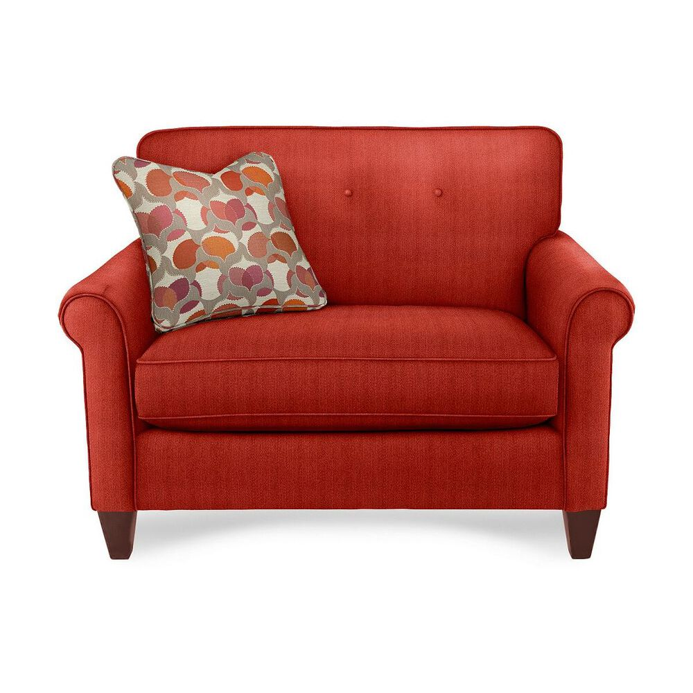 La-Z-Boy Laurel Premier Chair and a Half in Poppy, , large