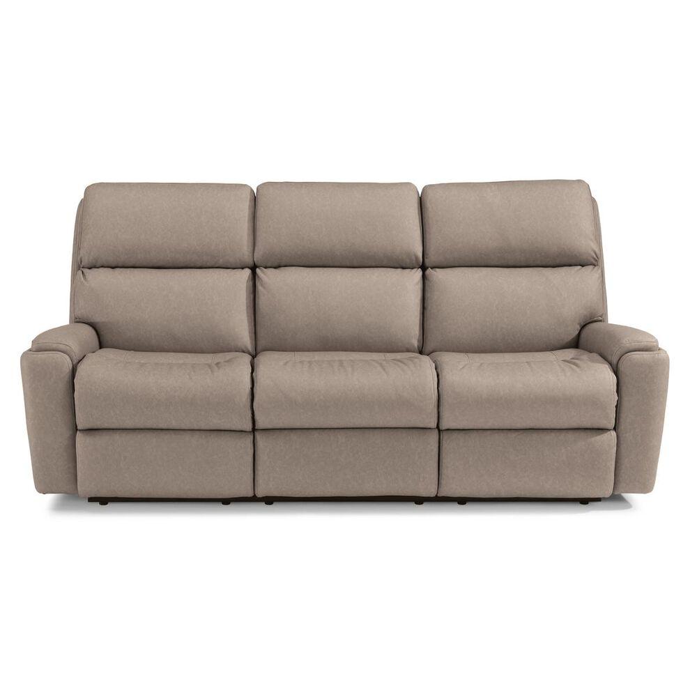 Flexsteel Rio Manual Reclining Sofa in Flint, , large