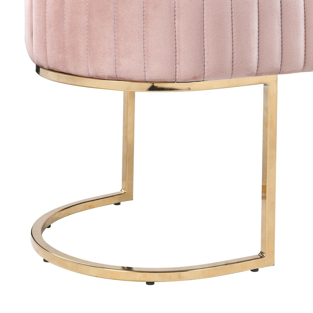 Lilola Home Julianne Bench in Pink, , large