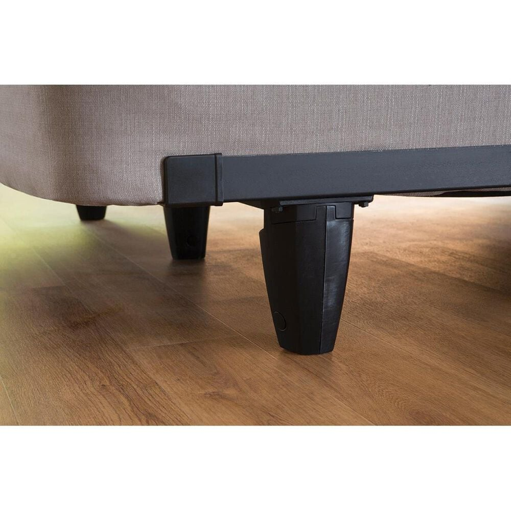 Knickerbocker Bed Company Engaurd Full Bed Frame in Black, , large