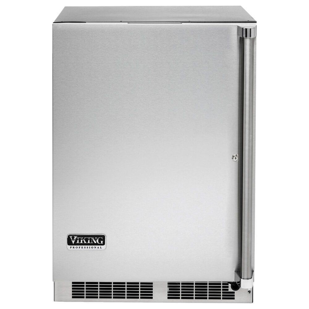 "Viking Range 24"" Solid Door Undercounter Refrigerator in Stainless Steel, , large"
