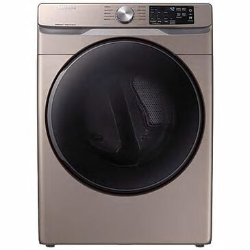 Samsung 7.5 Cu. Ft. Electronic Dryer with Steam Sanitize+ in Champagne, , large