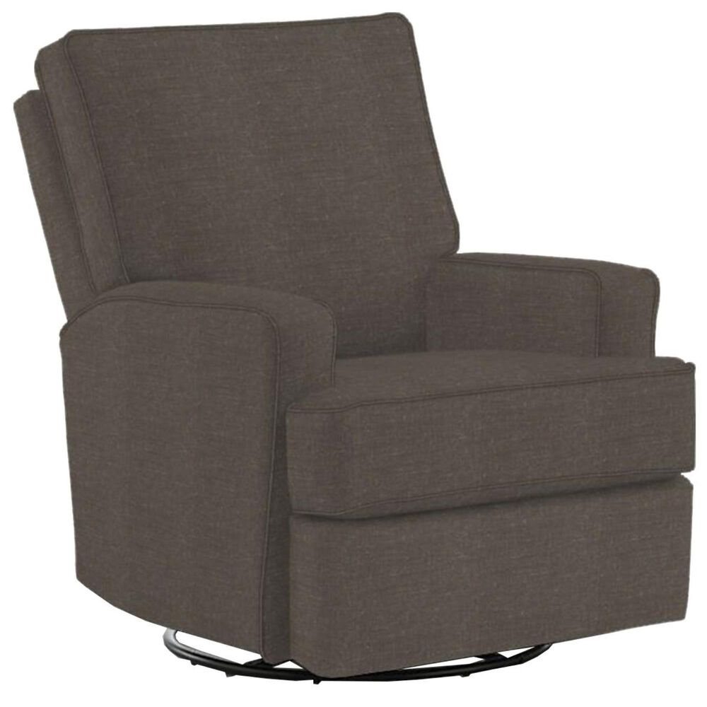 Best Home Furnishings Kersey Swivel Glider Recliner in Charcoal, , large