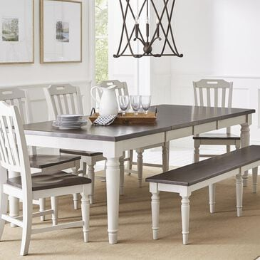 Waltham Orchard Park Dining Table in Dove Grey - Table Only, , large