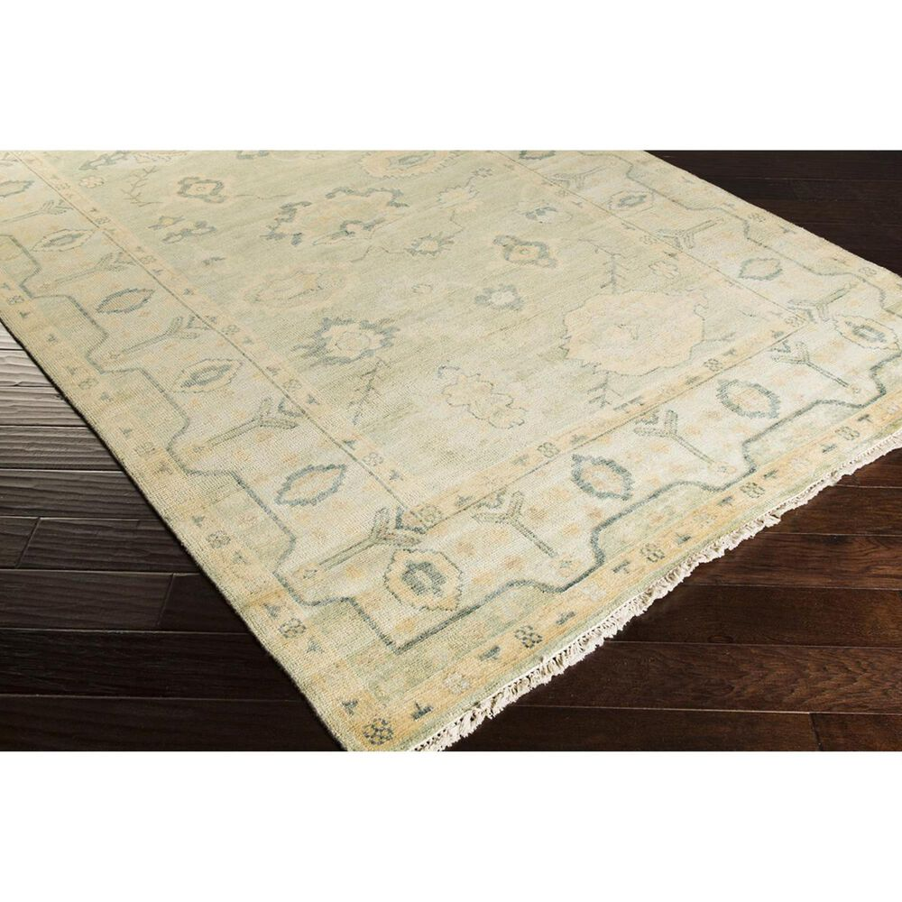 Surya Hillcrest HIL-9017 8' x 11' Green and Yellow Area Rug, , large
