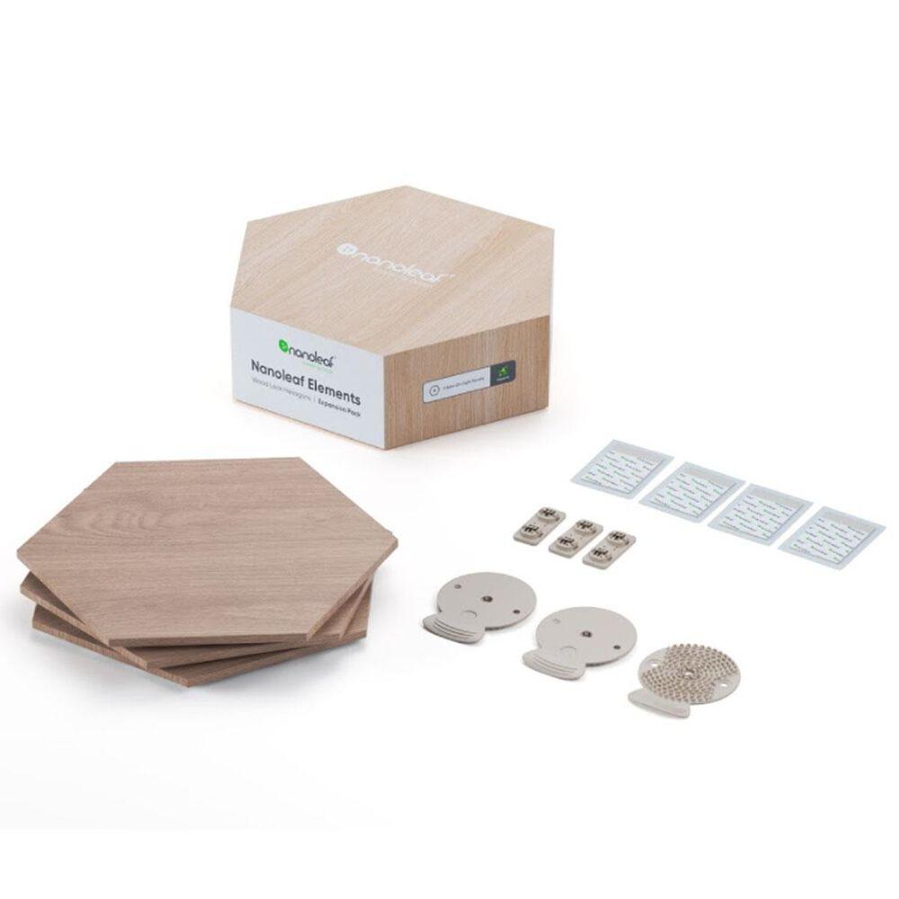 Nanoleaf Elements Wood 3-Piece Expansion Pack, , large