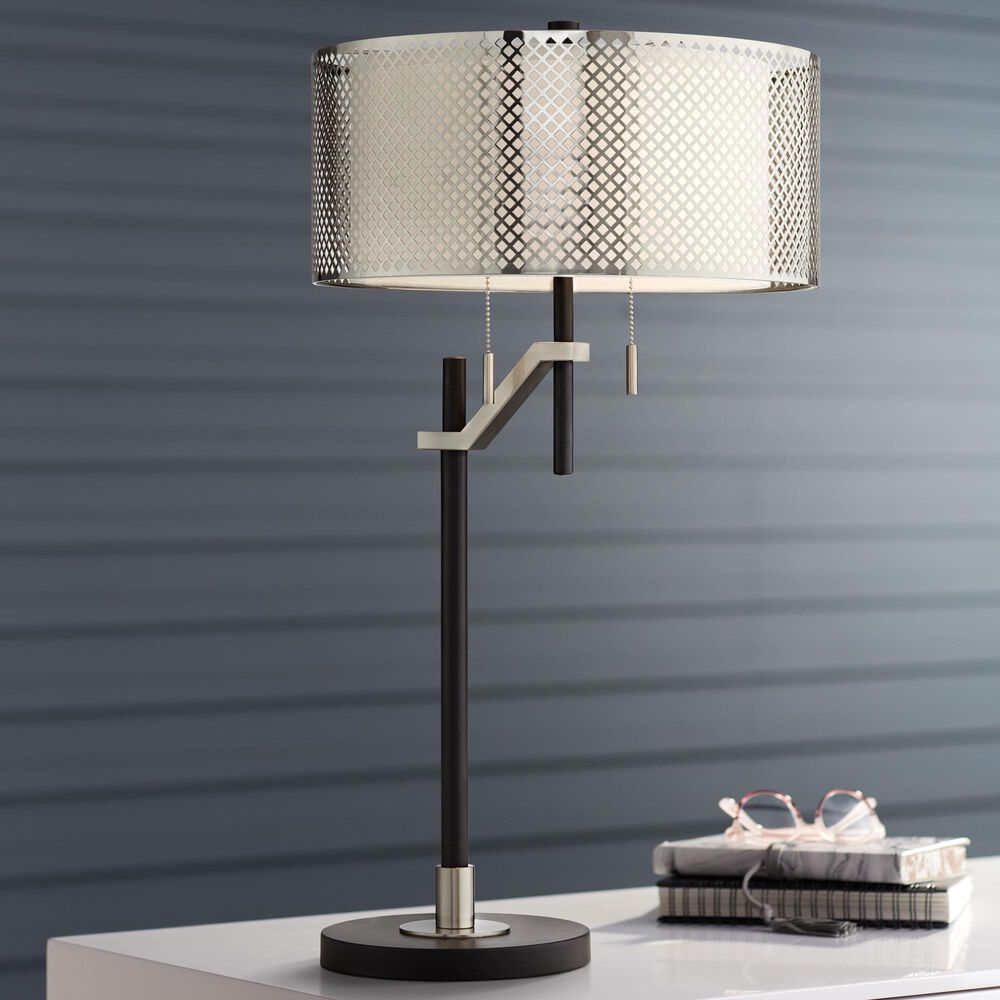 Pacific Coast Lighting Natalie Table Lamp in Black, , large