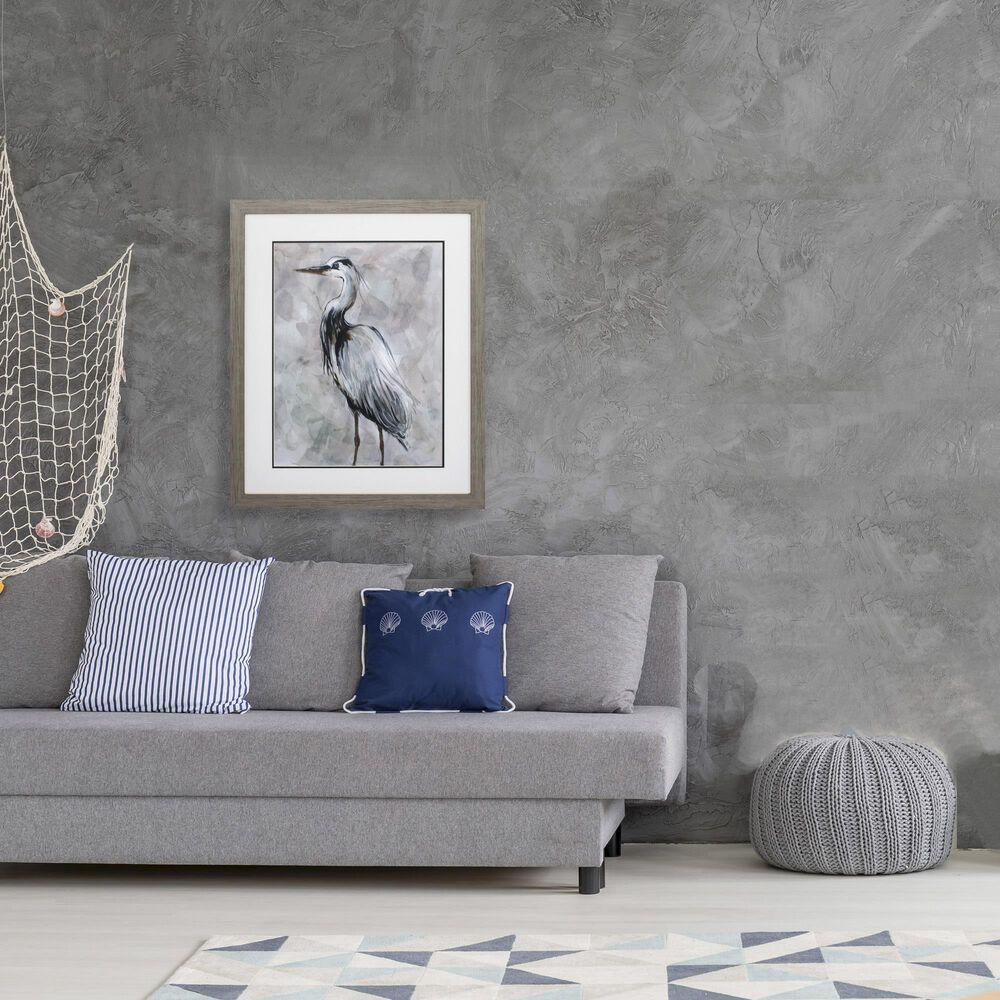 """Propac """"Crane at Dusk II"""" Wall Art in Gray, , large"""