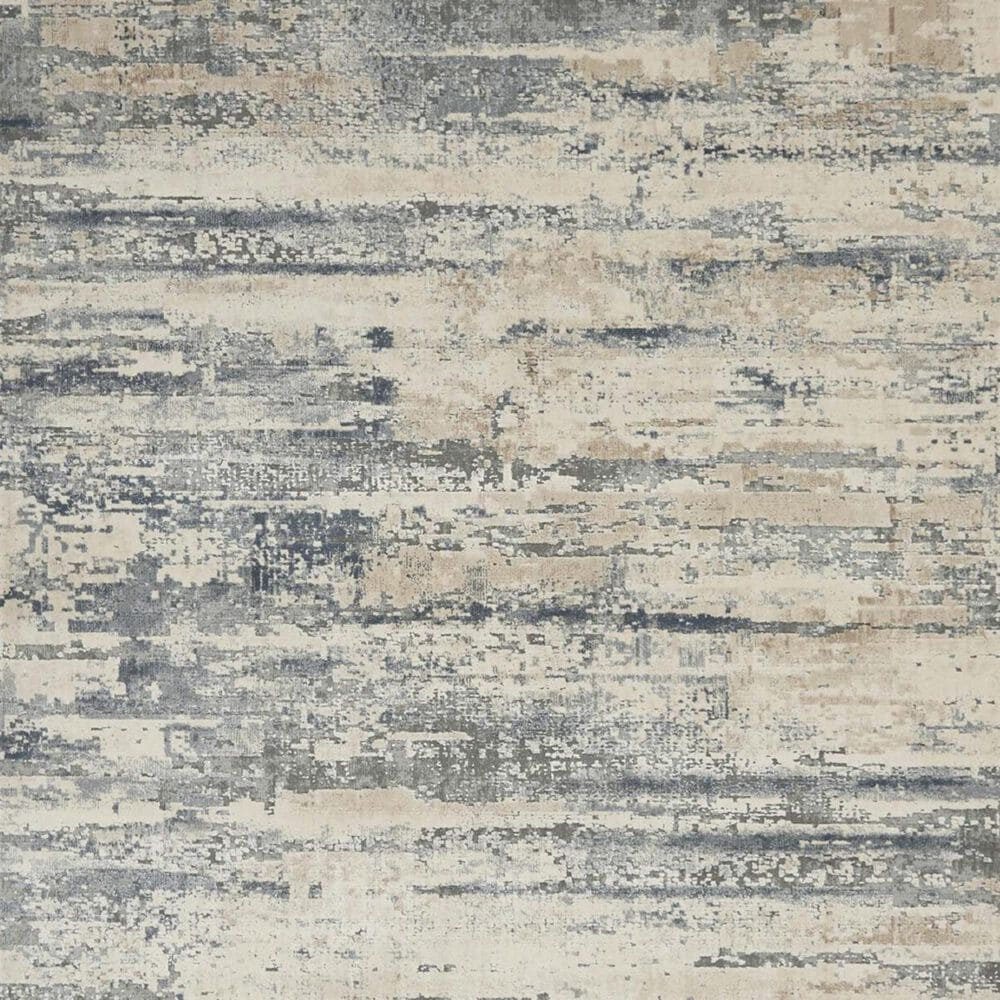"""Nourison Rustic Textures RUS04 2'2"""" x 7'6"""" Beige and Grey Runner, , large"""