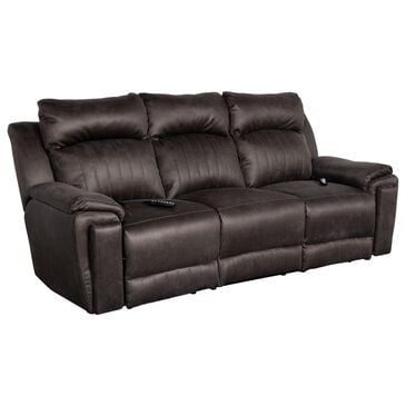 Southern Motion Silver Screen Power Reclining Sofa with Power Headrest in Slate, , large