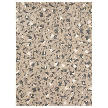 """Stacy Garcia Home Nordia 5""""3"""" x 7""""10"""" Frost Grey Area Rug, , large"""