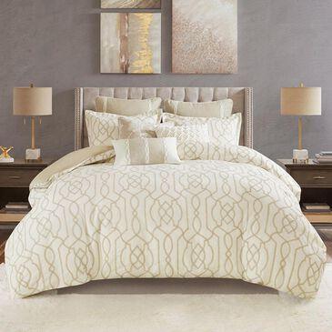 Hampton Park Clarity 8-Piece Queen Comforter Set in Neutral, , large